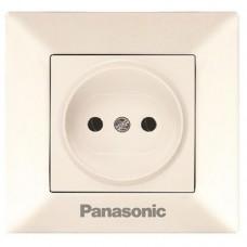 Розетка Panasonic Arkedia WMTC02012BG-RES одноместная кремовый