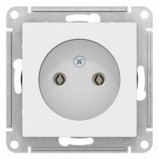 Механизм розетки Schneider Electric AtlasDesign ATN000141 одноместный без заземления белый