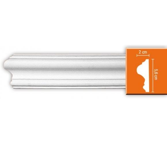 Молдинг полиуретановый Decomaster 97620 2400х56х20 мм
