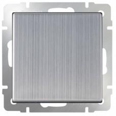 Механизм выключателя Werkel WL02-SW-1G-2W одноклавишный проходной глянцевый никель