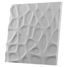 Дизайнерская 3D панель из гипса Artgypspanel Паутина 500х500 мм