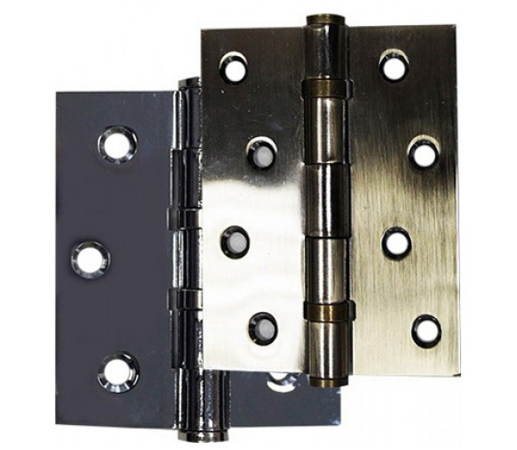 2 шт/уп, Петля двер. универс. 125х75х2,5мм, бронза