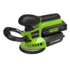Шлифовальная машина аккумуляторная Greenworks G24ROS без аккумулятора и зарядного устройства