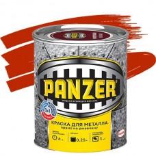 Panzer гладкая красная 0,25 л