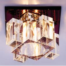 Светильник точечный встраиваемый Italmac Bohemia 220 11 74 G9 пурпур 40 Вт