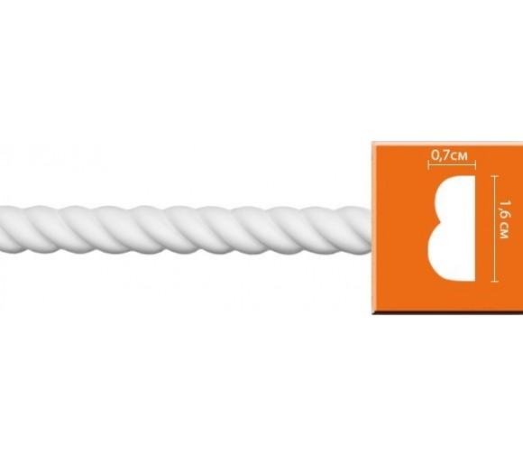 Молдинг полиуретановый Decomaster 98100 2400х16х7 мм