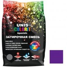 Затирка влагостойкая для швов Unis Colorit сирень 2 кг