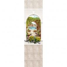 Стеновая панель ПВХ Novita Панорамы 3D Триумф №14 узор 2700х250 мм